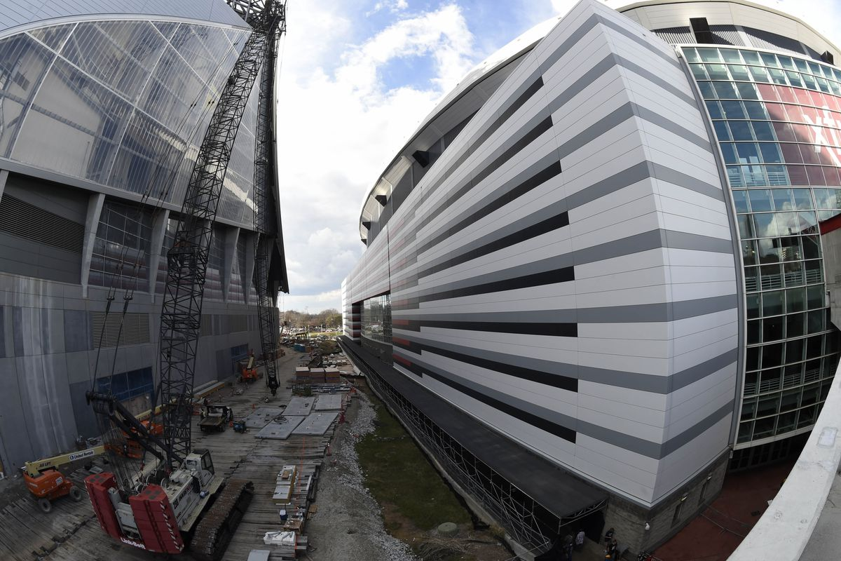 Georgia Dome After Demolition >> The End Is Near Again Georgia Dome Demolition Date Set The