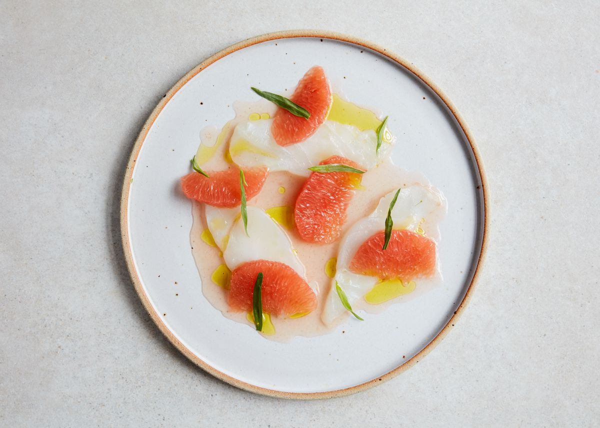 Cod crudo, at Levan in Peckham