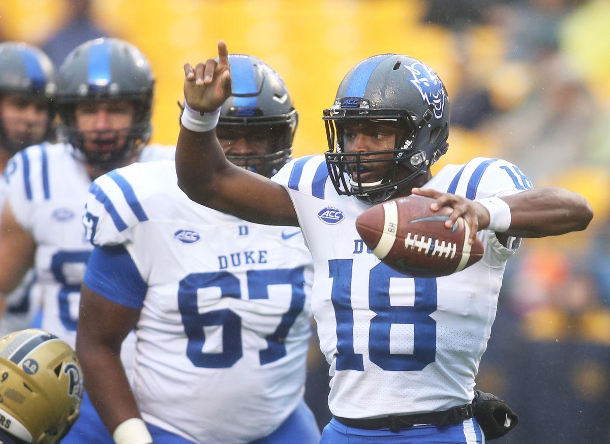 NCAA Football: Duke at Pittsburgh