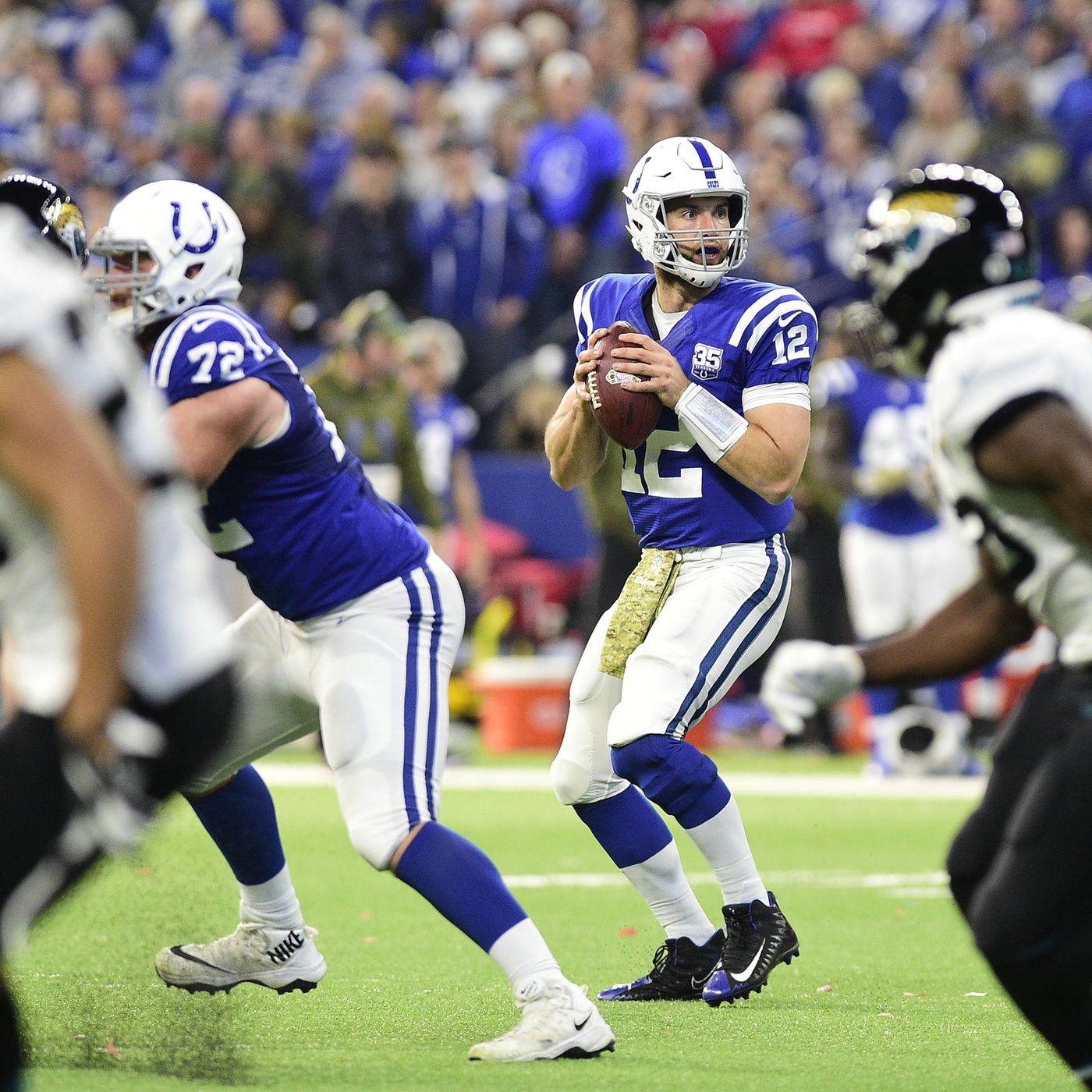 e03f968f Colts offensive line has figured out how to keep Andrew Luck clean ...
