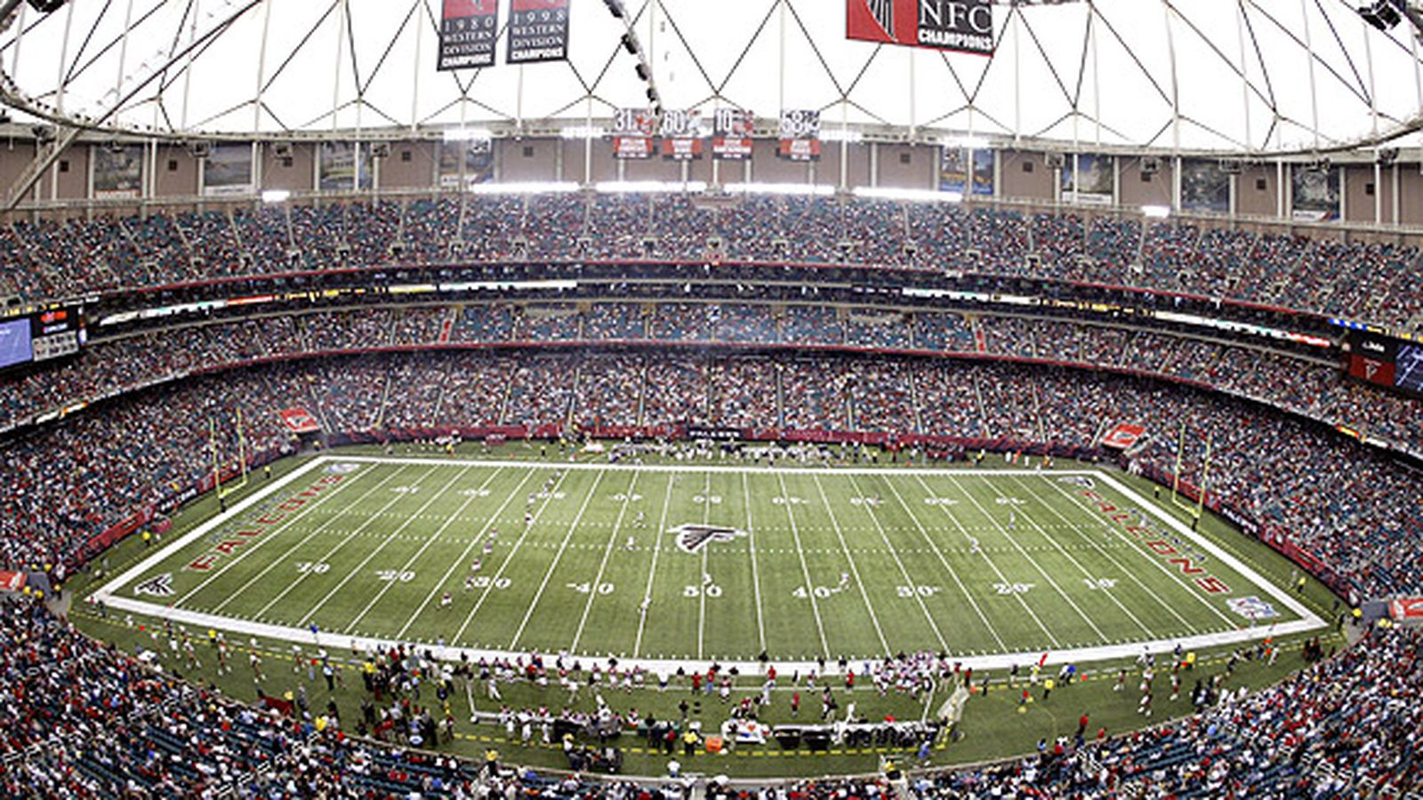 Tracing atlanta 39 s limited checkered super bowl legacy for Mercedes benz stadium seats for sale