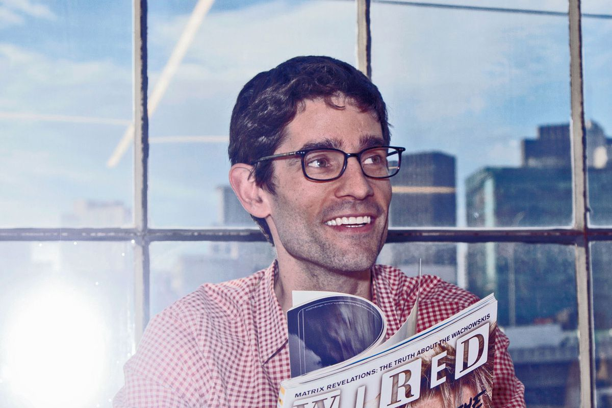 Wired Editor in Chief Nick Thompson
