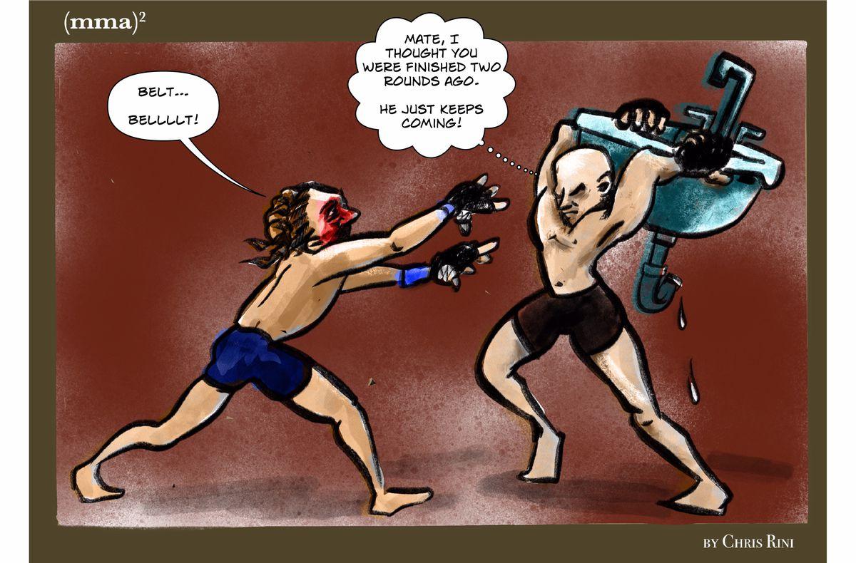 MMA Squared, Chris Rini, UFC 266, Brian Ortega, Alexander Volkanovski, Featherweight, Las Vegas, UFC, Max Holloway
