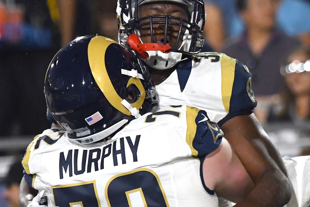 wholesale dealer e9978 bee52 2017 Rams Roster Preview: OL Pace Murphy Looks To Repeat ...