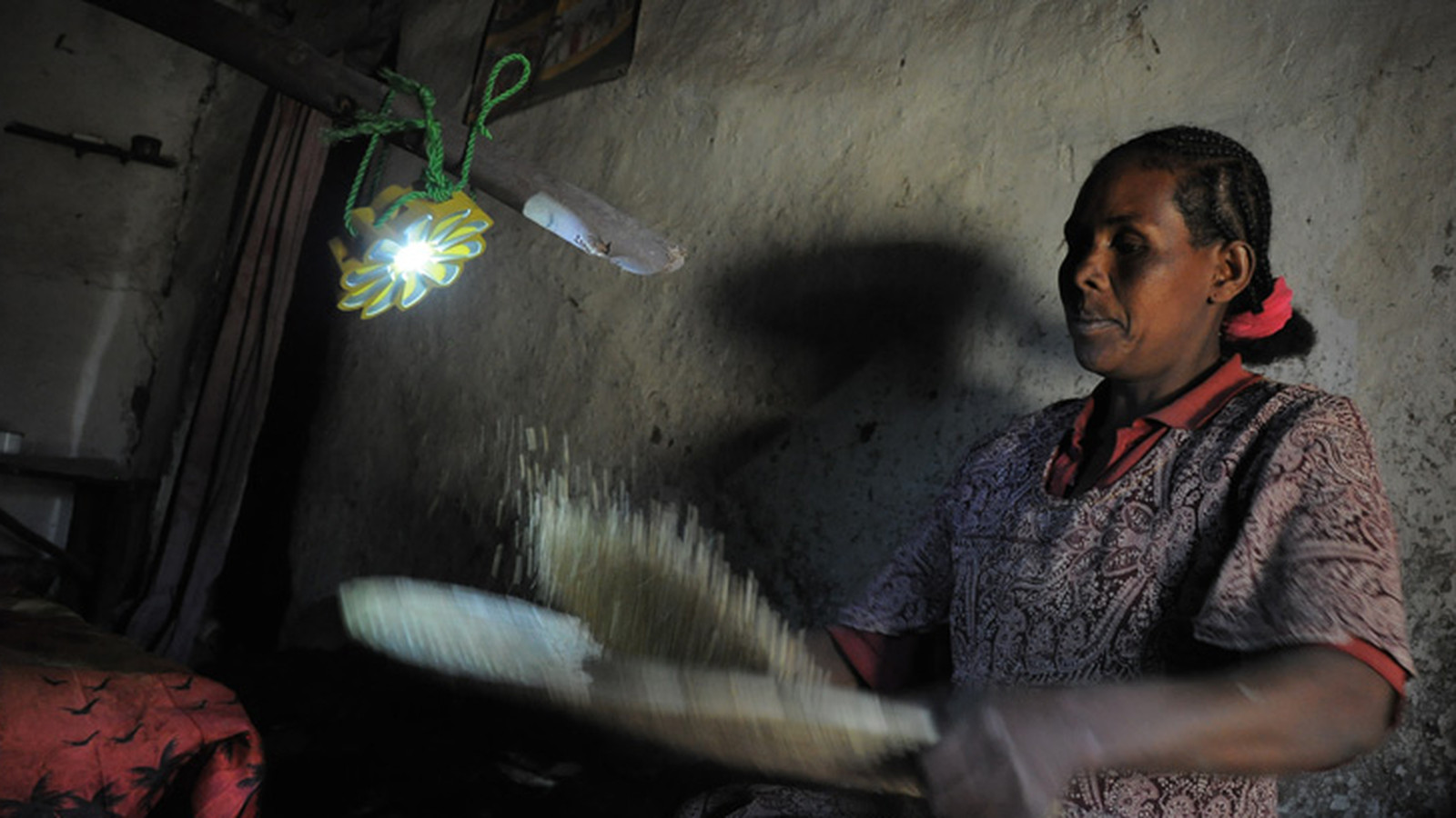 Littlesun Solar Led Lamp Delivers Safe Cheap Light Good