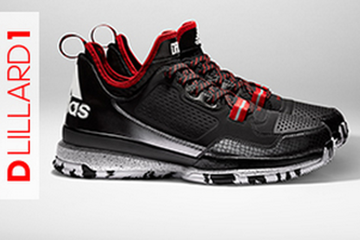 8cbdeb7a6210 Adidas has let loose details and pics of the first signature shoe for  Portland Trail Blazers point guard Damian Lillard. Available on February  6th