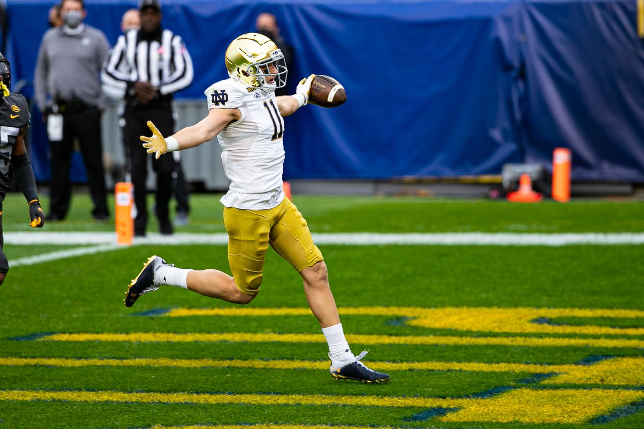 COLLEGE FOOTBALL: OCT 24 Notre Dame at Pitt