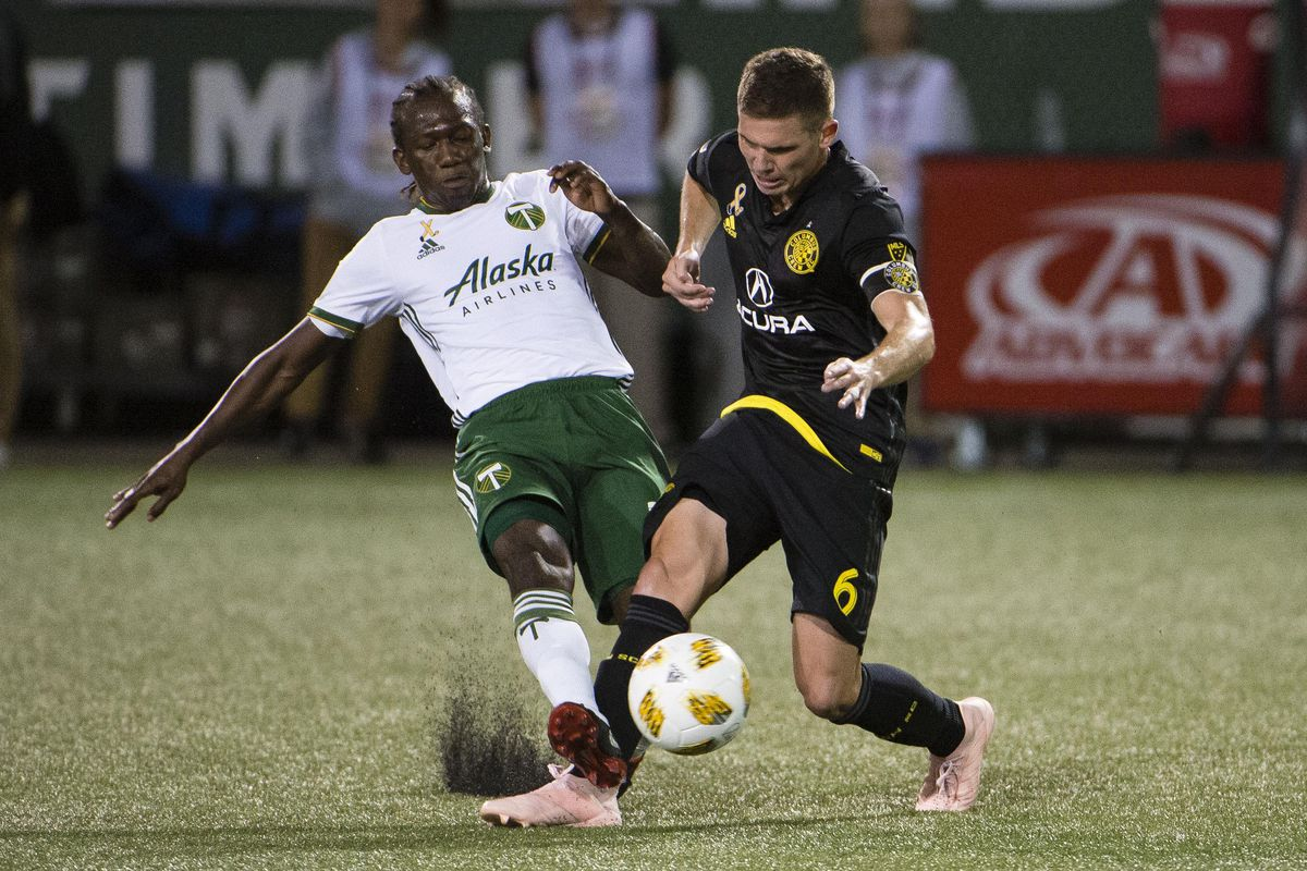 MLS: Columbus Crew at Portland Timbers