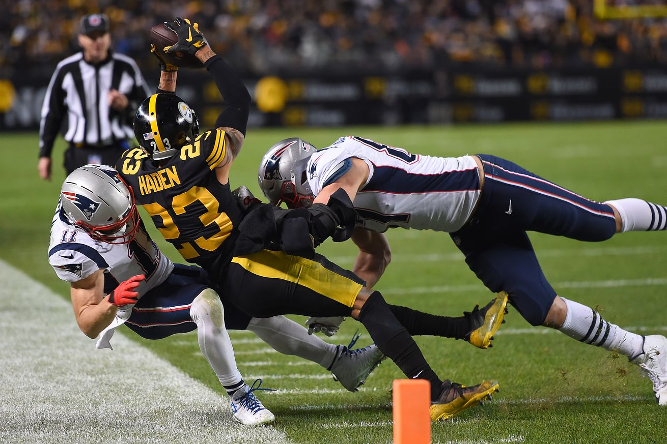 The best and worst plays from the Patriots' 17-10 loss in Pittsburgh