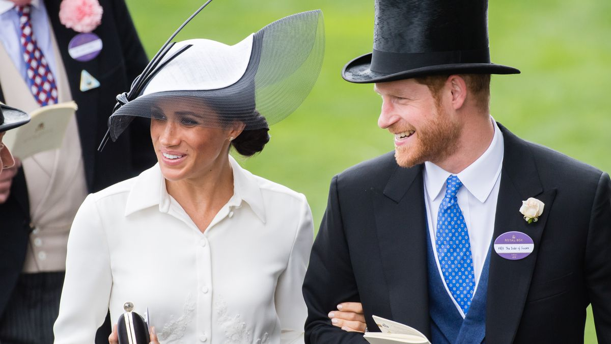 23ec4d0de40b1 Meghan Markle and Prince Harry at the Royal Ascot on June 19. Samir  Hussein WireImage