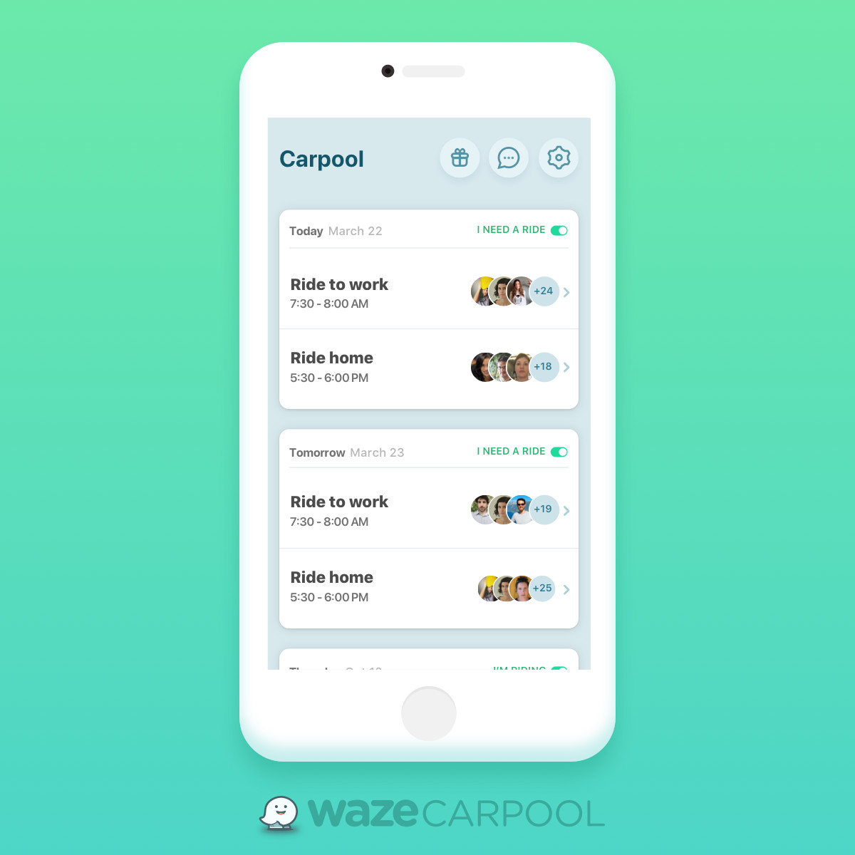 Waze rolls out carpool matchmaking in Washington State