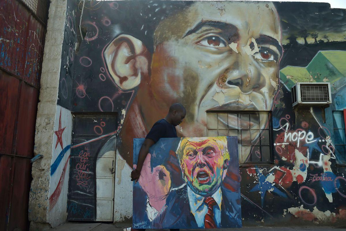 KENYA-US-ART-POLITICS-TRUMP
