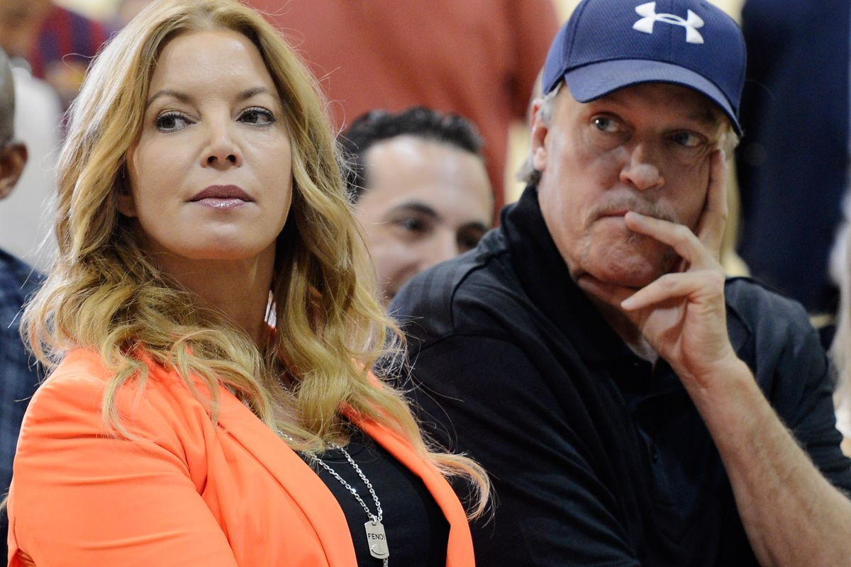 jeanie buss has stripped jim buss of all his power with the lakers