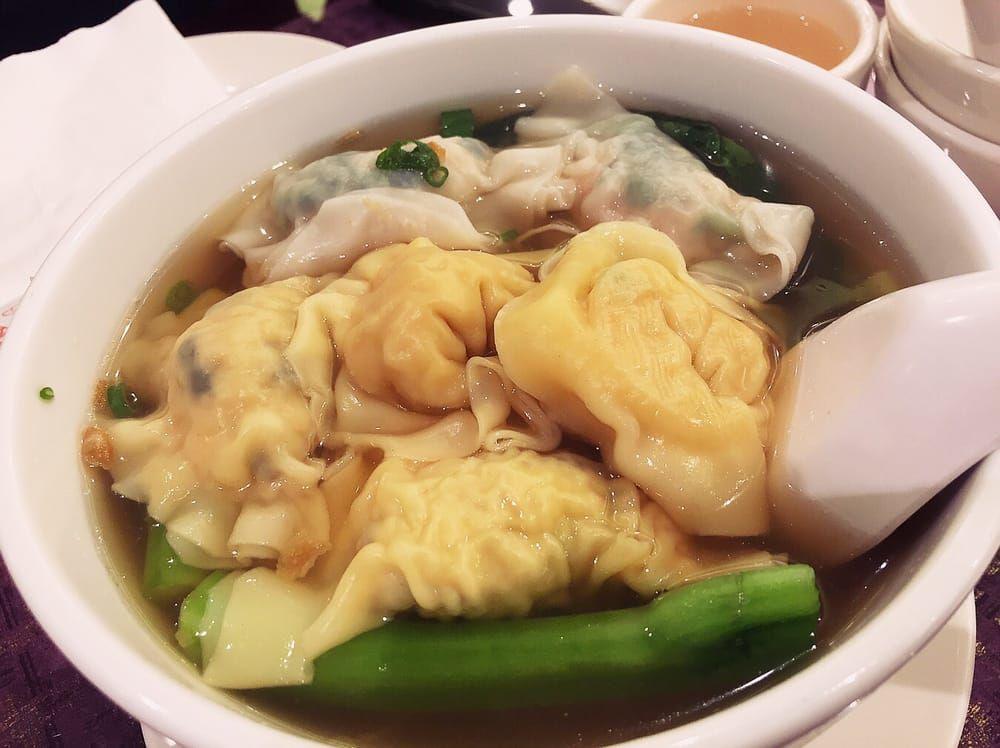 Wu's Wonton King dumplings