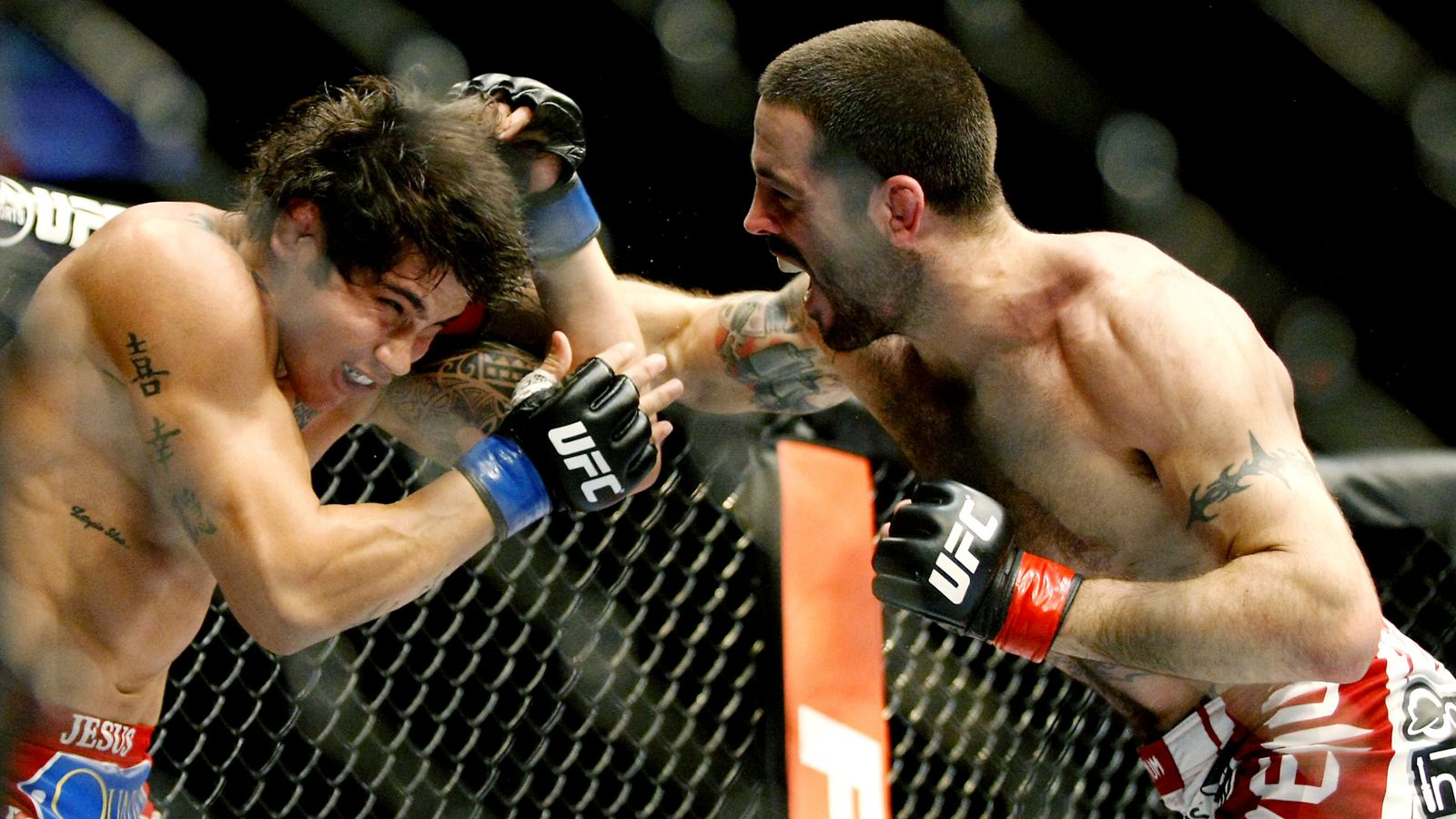 UFC Fight Night Cincinnati Judo Chop: Matt Brown's ...