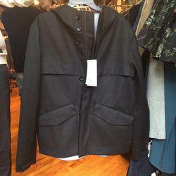Men's rain coat, $375