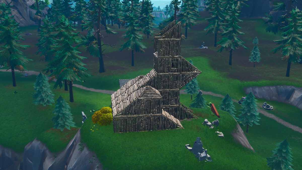 Fortnite Visit A Wooden Rabbit A Stone Pig And A Metal Llama