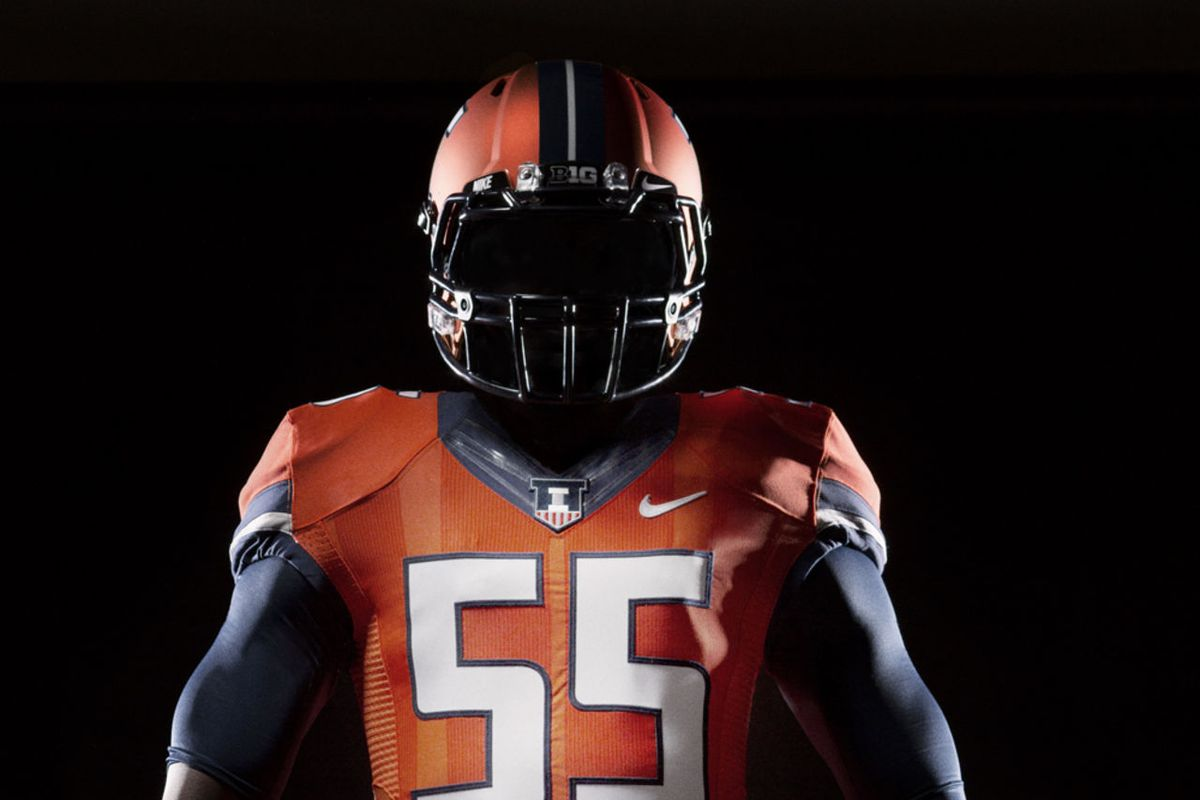 9a1855be699 The Top 10 Illinois Football uniforms of all-time, ranked - The ...