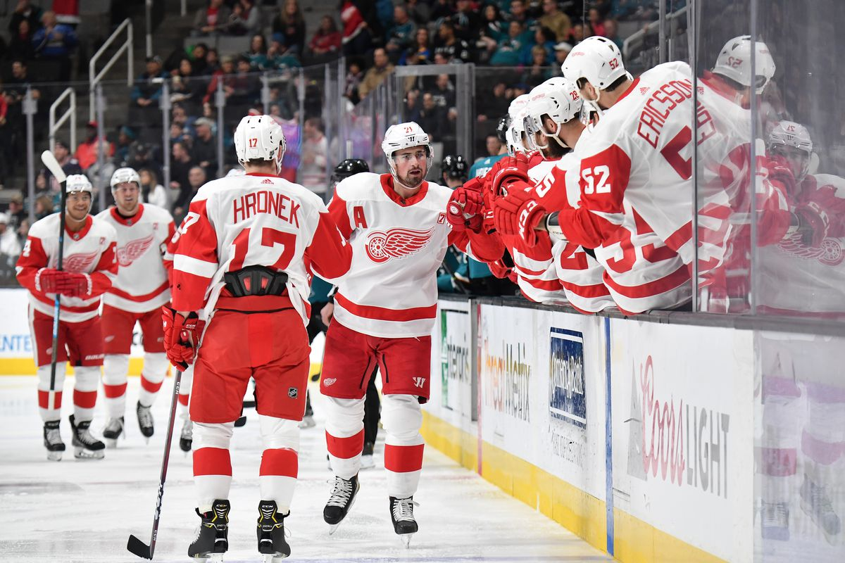 Red Wings at Sharks: GDU, Lineups, Keys to the Game