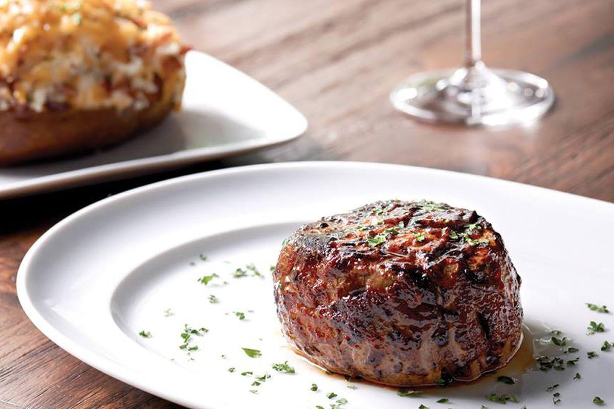 Steak at Mastro's