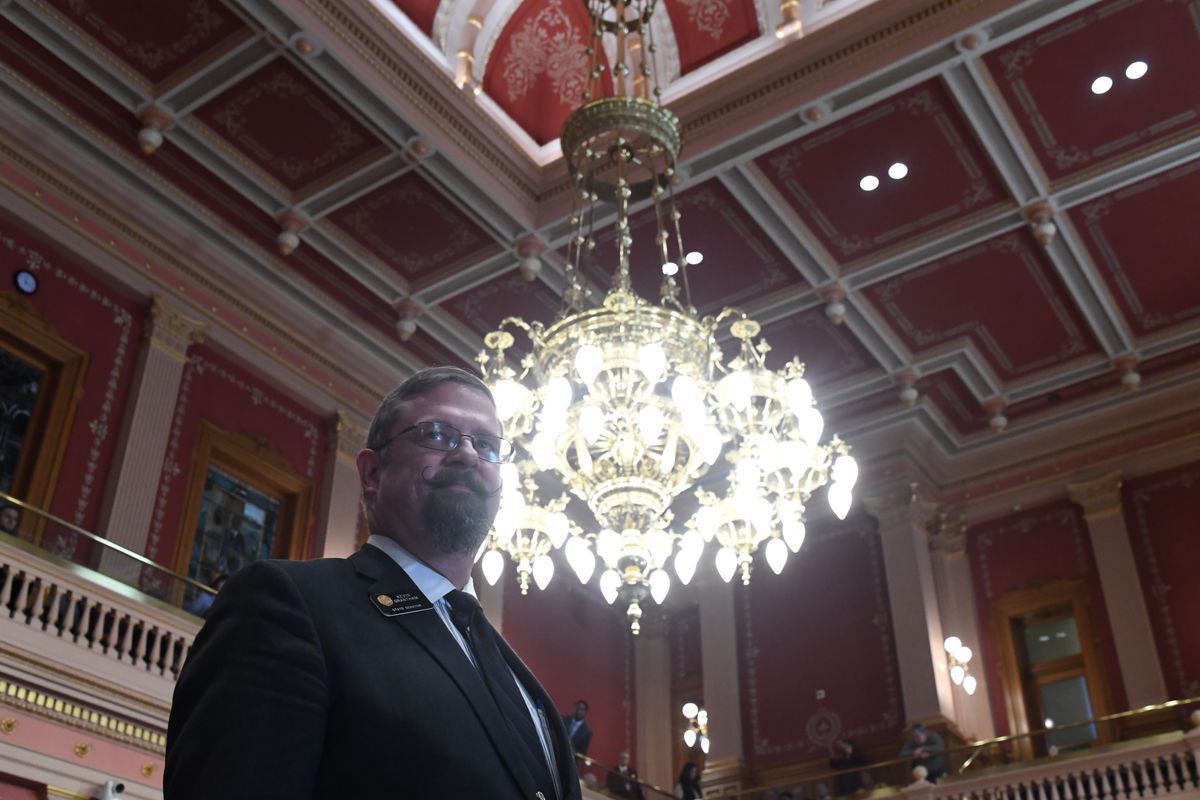 Senate President Kevin Grantham at the Colorado State Capitol, January 11, 2017.