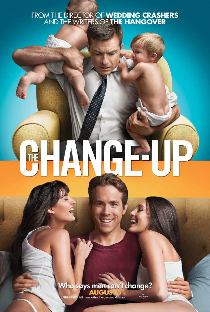 Movie poster for 'The Change-Up'