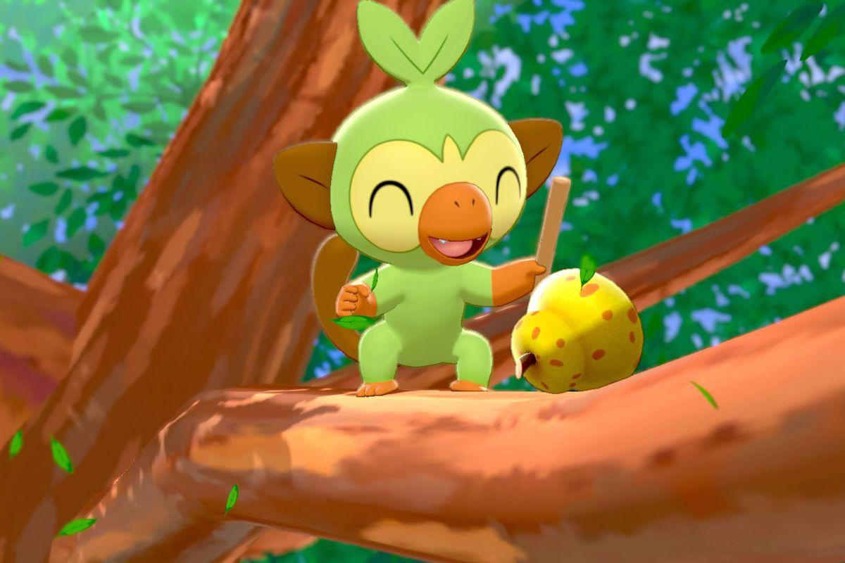 Grookey in Pokémon Sword/Shield