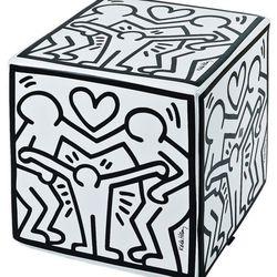 Keith Haring 'Happy Family' Ottoman, $325