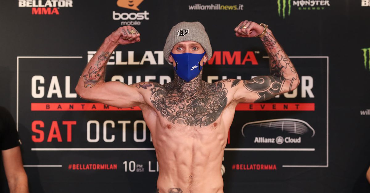 With brain scan scare, multiple delays behind him, Cal Ellenor ready to finally face off with James Gallagher