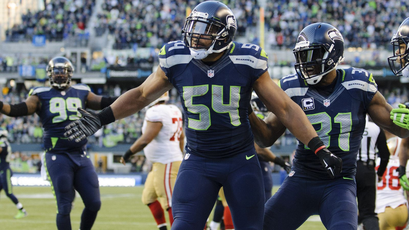 Seahawks Depth Chart Predictions Linebackers Field Gulls