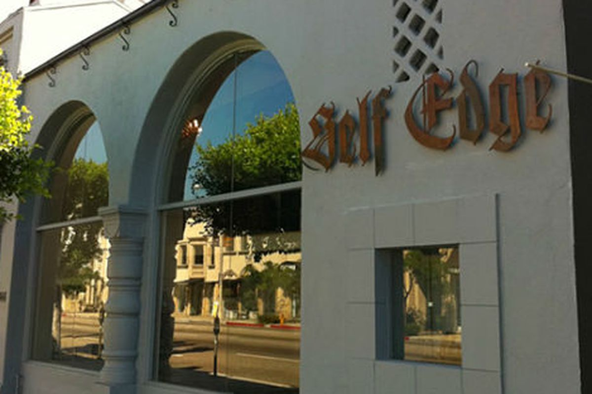 """Self Edge on La Brea. Photo via <a href=""""http://www.selectism.com/2010/08/31/self-edge-lands-in-los-angeles/"""">Selectism</a>."""