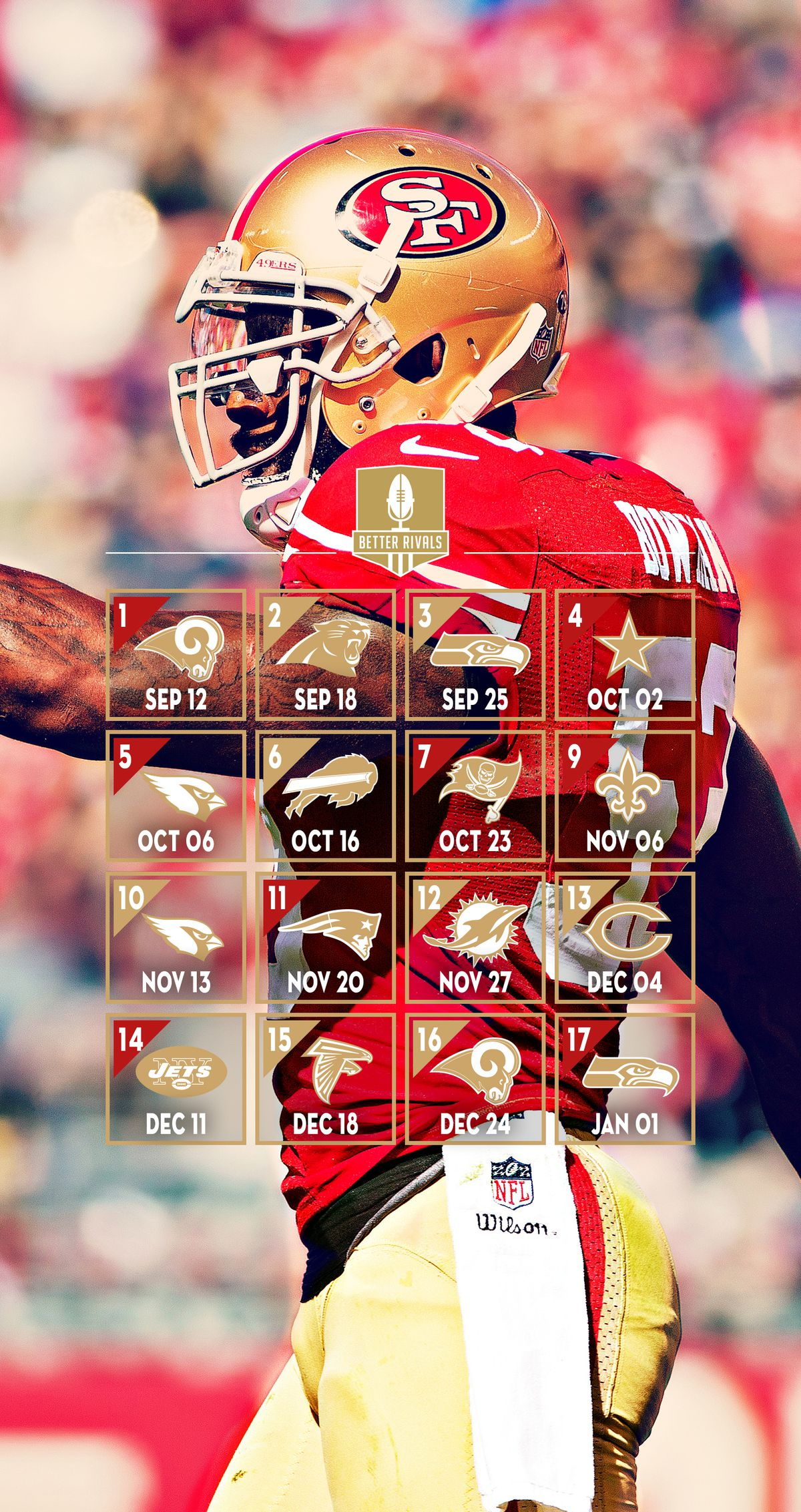 New 49ers wallpapers for desktop and mobile niners nation - 49ers wallpaper iphone 5 ...