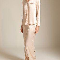 "La Perla Studio silk pajamas, $90 (were $258) via <a href=""http://www.nancymeyer.com/LA-PERLA/search"">Nancy Meyer</a>"