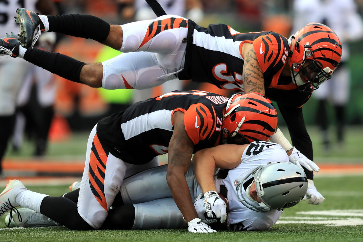 NFL: Oakland Raiders at Cincinnati Bengals