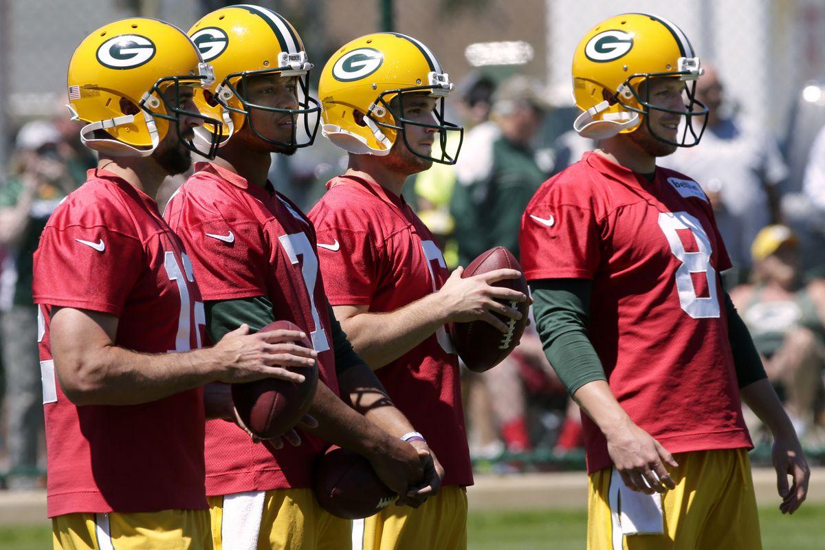 Packers Training Camp Preview  Quarterbacks need preseason snaps ... 2e429c528