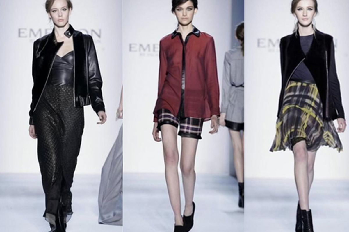"""Emerson Fall 2013 looks via <a href=""""http://racked.com/archives/2013/02/11/emerson-went-where-the-mayans-didnt-for-2013.php"""">Racked</a>"""