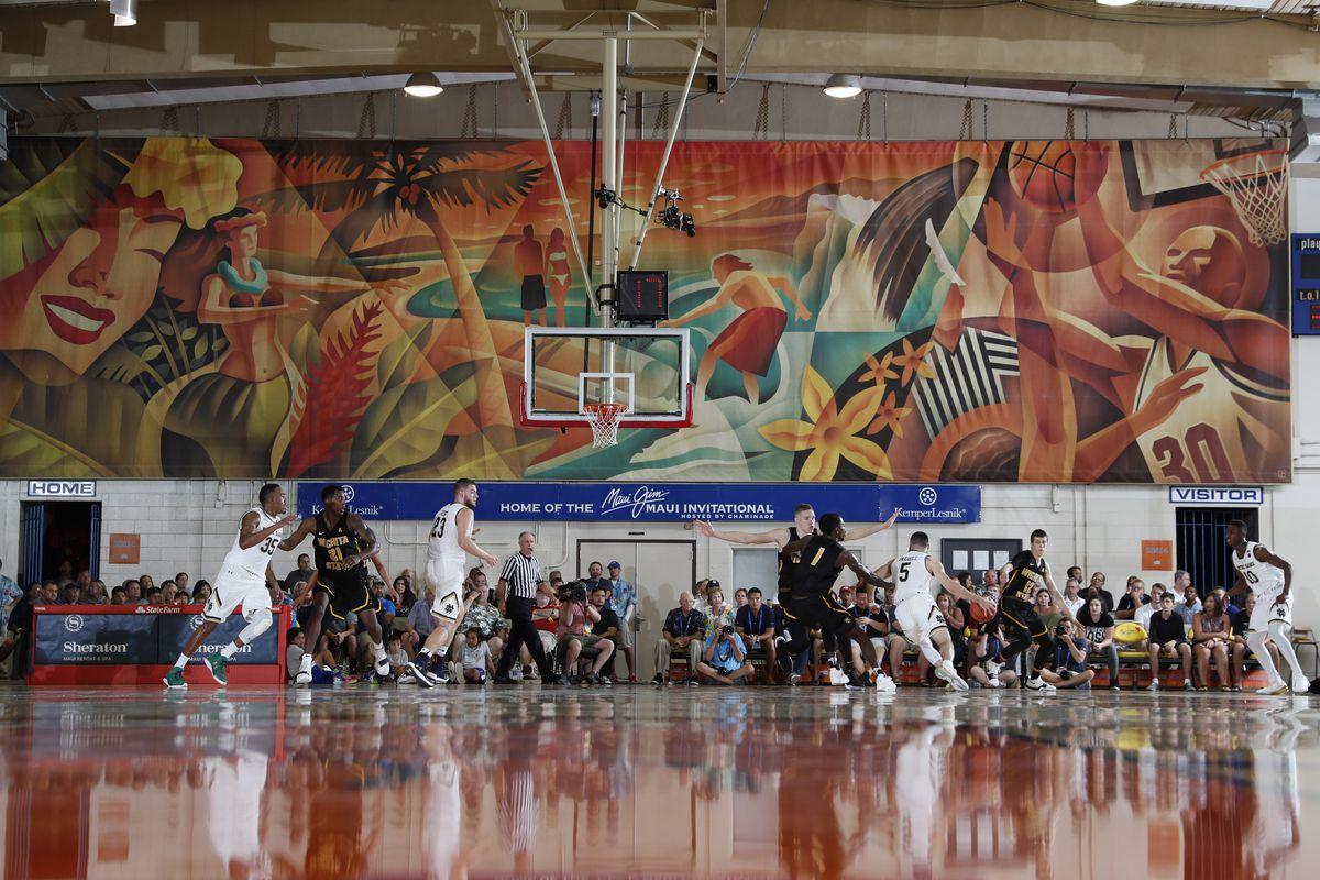 NCAA Basketball: Maui Invitational-Wichita State at Notre Dame
