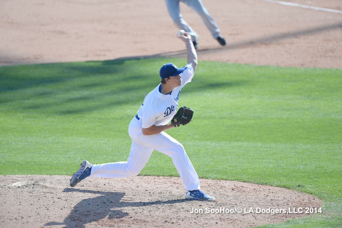 Tom Windle, seen here during spring training, had 9 K's on Wednesday