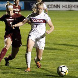 Temple Owls vs UConn Huskies women's soccer
