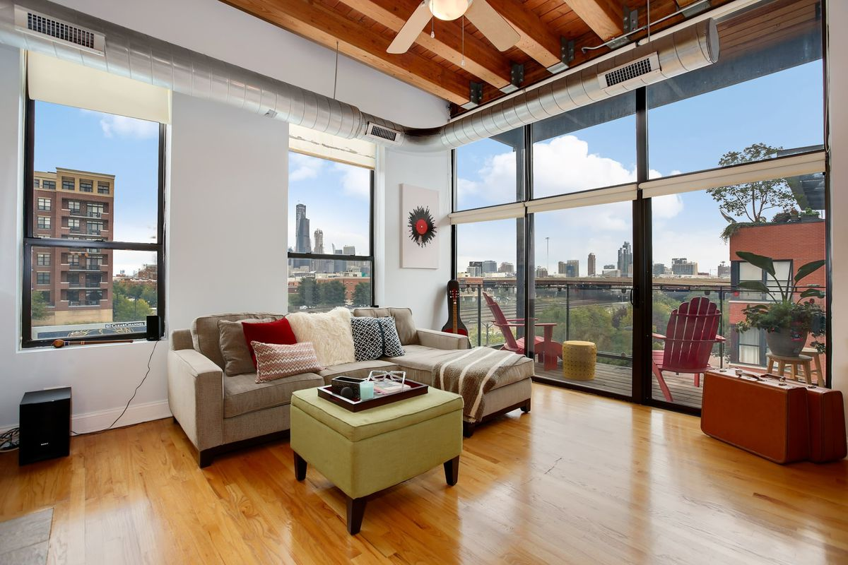 Bright two-bedroom timber loft in Pilsen seeks $355K ...