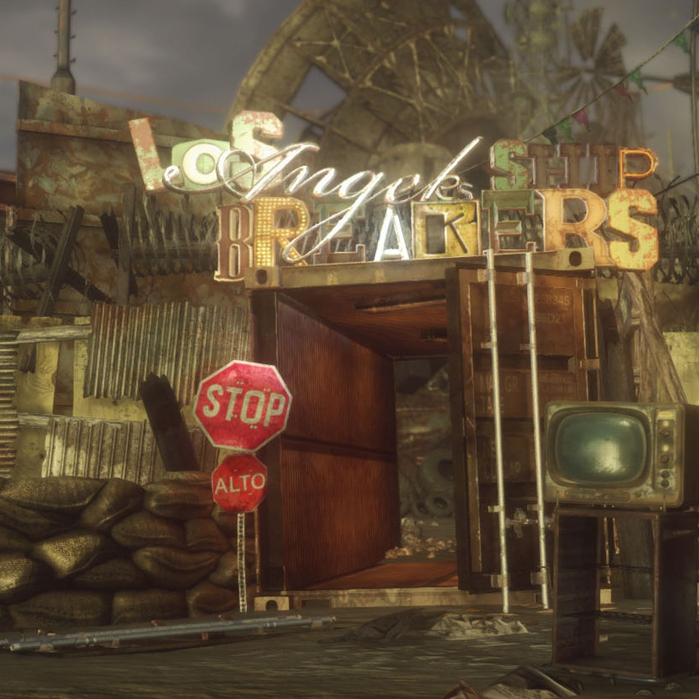 Fallout New Vegas mod Fallout New California ing to PC in