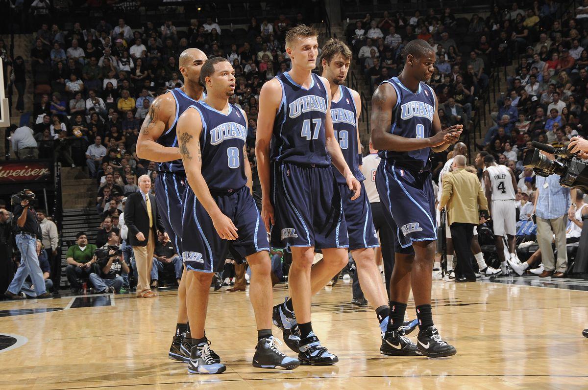 The 5 Best Utah Jazz Teams Of All Time According To Fivethirtyeight S Raptor Slc Dunk