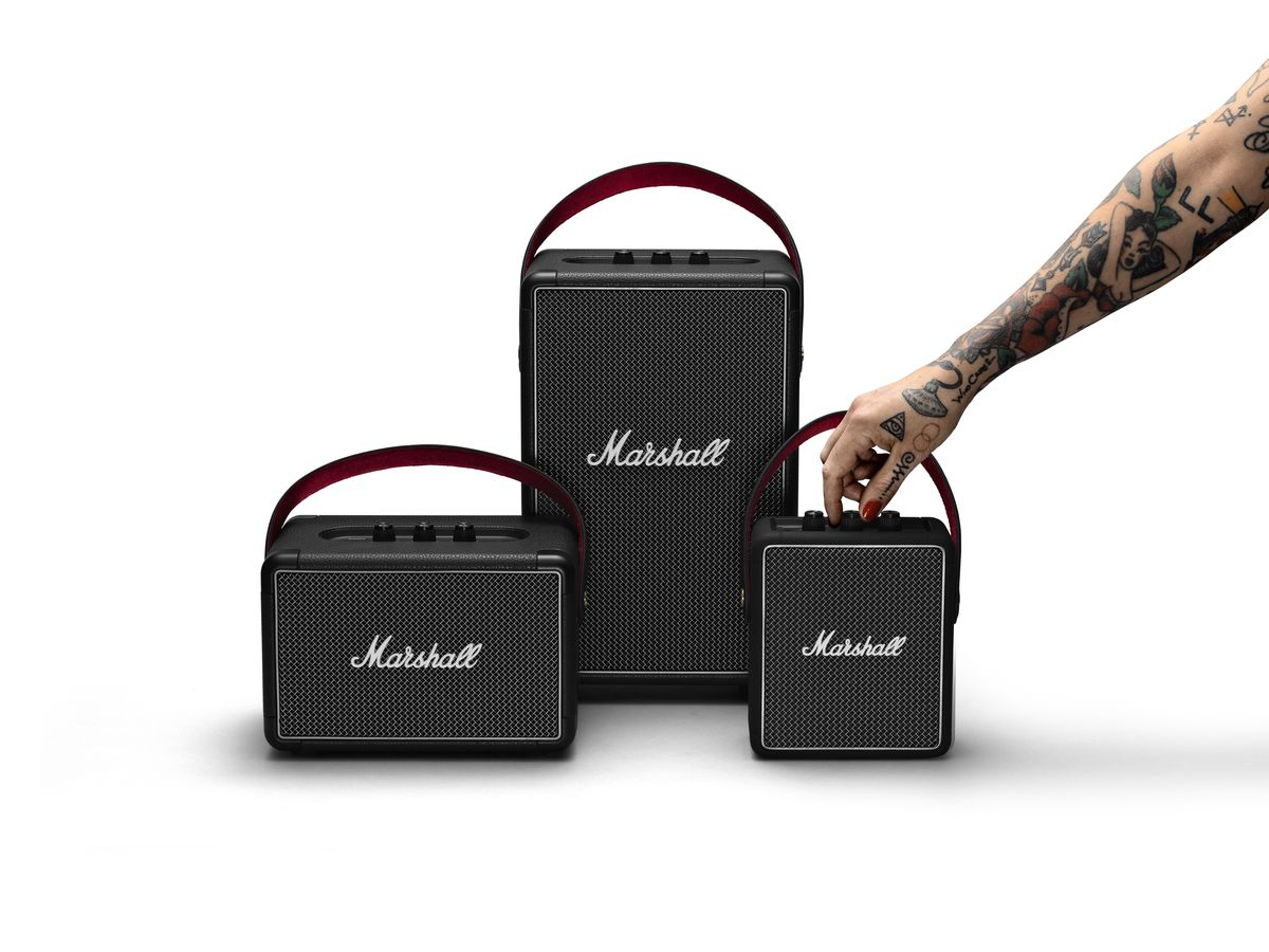 Marshall expands its portable Bluetooth lineup with two new