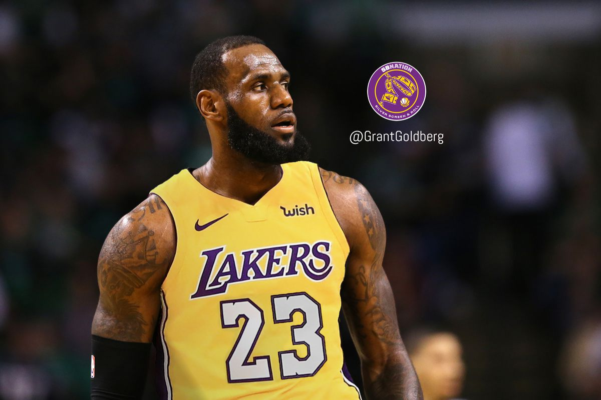 san francisco f003e 66ea1 Laker Film Room: How LeBron James Changes the Lakers in ...