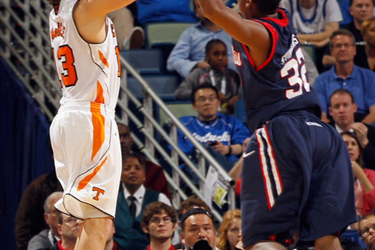 Skylar McBee's shooting saved the Vols late, but a bad call helped Ole Miss put Tennessee away.