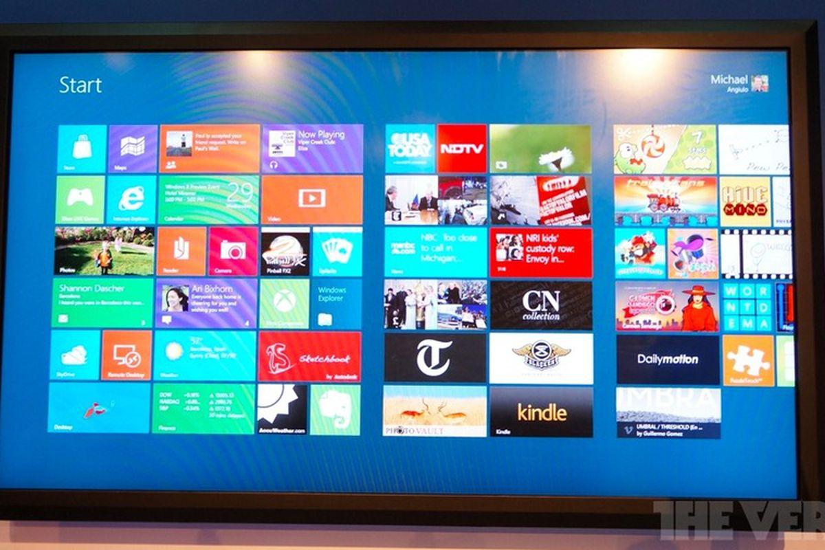 Windows 8 80-inch