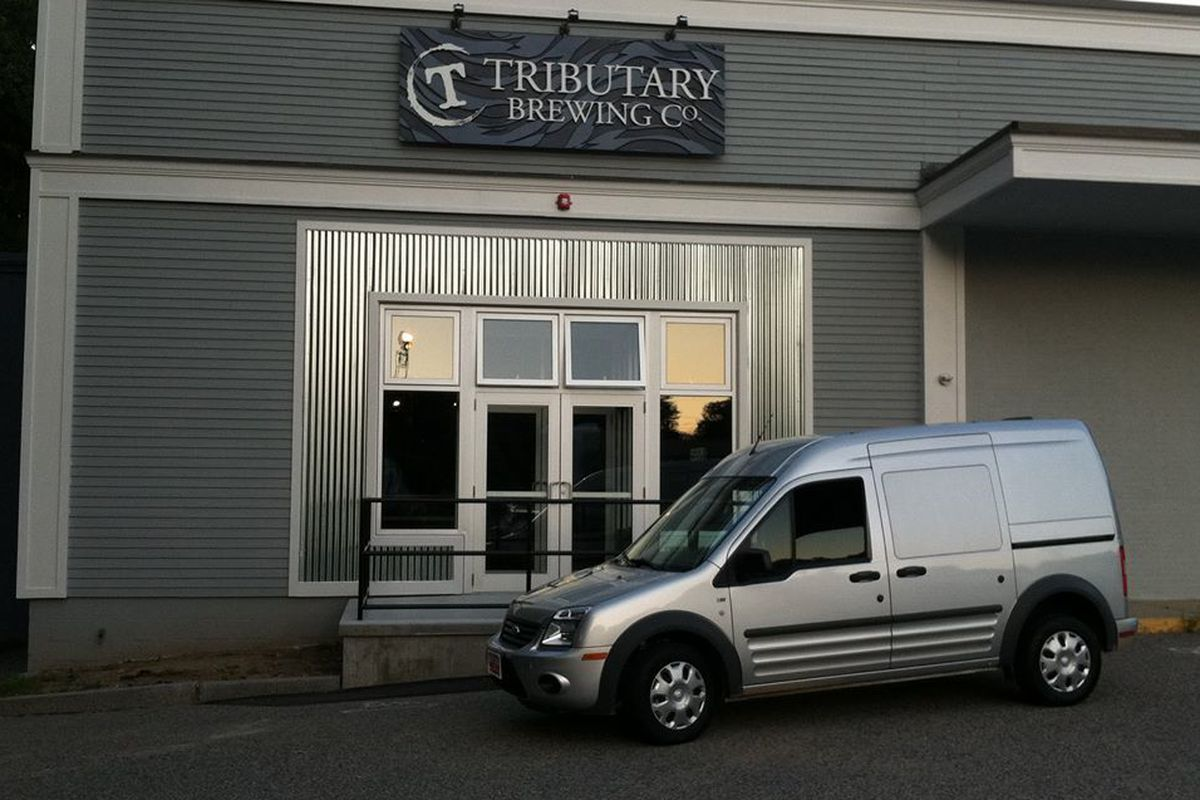 Look for Tributary around Maine soon, thanks to this delivery vehicle.