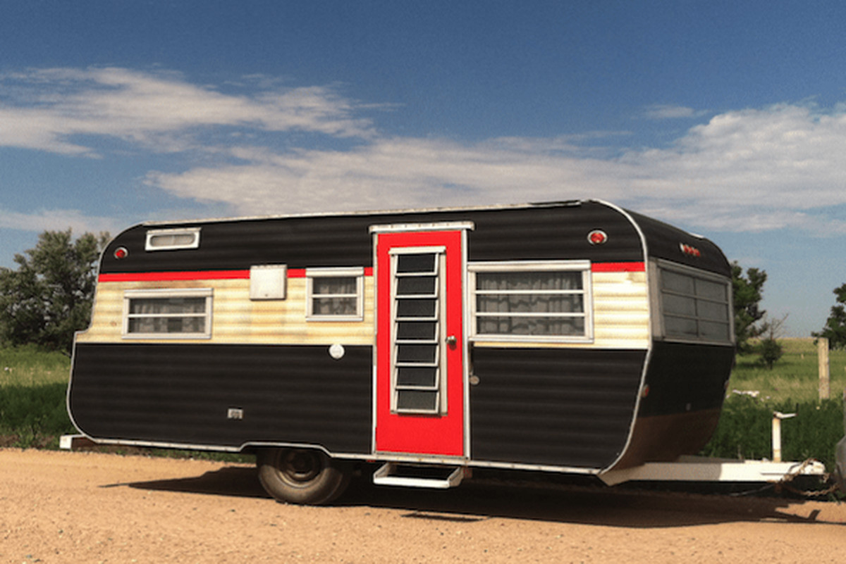 Classic Winnebago Travel Trailer