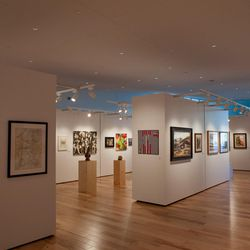 The 18,000-square-foot Southern Utah Museum of Art was built with adaptable gallery spaces to accommodate traveling exhibits, a special collection of Jones' work and rotating exhibits from the permanent collections, according to information from the university.