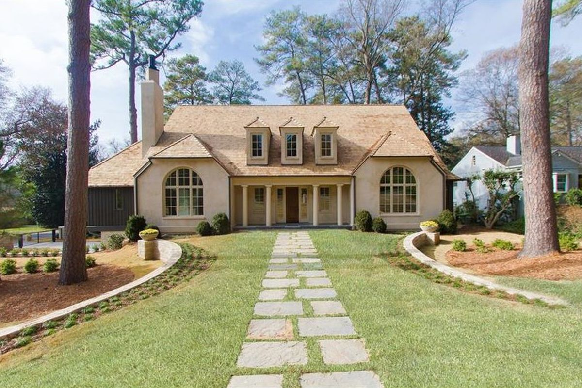 A newish home for sale in Buckhead for nearly $2.4 million.